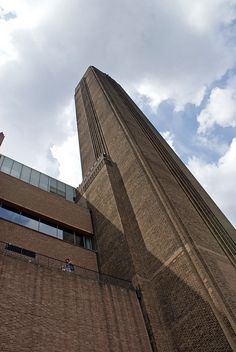 London, Tate Modern. Was there first time in 2011. Love the bridge outside the building..