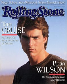 Tom Cruise - Rolling Stone (1988 Aug)