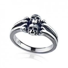 Magical Power series-Sterling Silver Skulls Ladies Ring - Rings - New Arrivals ☺ ☺