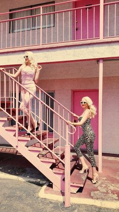 Vintage Blog - The Pink Collar Life: Fifties Bad Girl Part II - Pink Motel