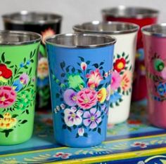 Hand painted in Kashmir! LOVELY