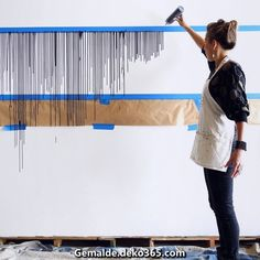 17 Wall Décor Ideas You Will Often See in 2019 is part of painting DIY - Wall Decor Ideas in wall decoration handmade wall decor vintage wall decor indonesia, wall decor kayu wall design, wall decor shabby Diy Wall Painting, Diy Wall Art, Wall Décor, Creative Wall Painting, Wall Paintings, Painting Canvas, Diy Tapete, Diy Home Decor, Room Decor