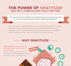 The classic American holiday can actually bring you numerous benefits - when you understand the science behind 'giving thanks'.