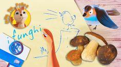 Alice reportage: I funghi velenosi #drawmylife 📷 🎥🐾 🍁Cartoni animati per...