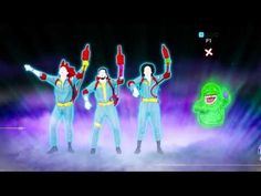 ▶ Ghostbusters   LC 2 - Ray Parker Jr. - Just Dance 2014 (Wii U) - YouTube