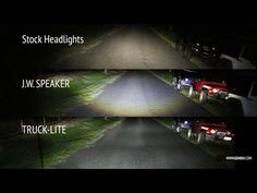 mopar 7 pin wiring harness for jeep wrangler jk jeep wrangler video comparison jw speaker vs truck lite led vs stock headlights on jeep wrangler jk