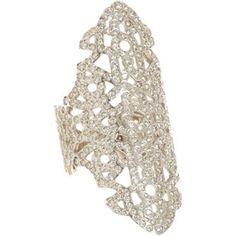 White Gold & Diamond Maure Ring
