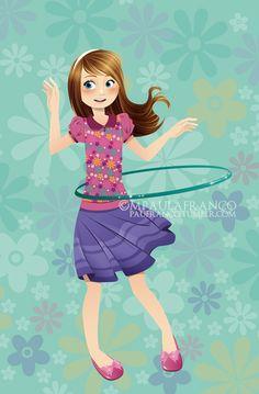 Children illustration.  Paula Franco #PaulaFranco