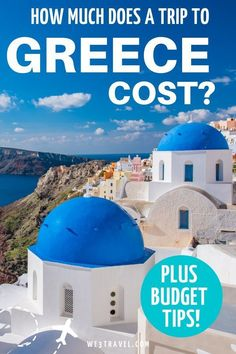 What does a trip to Greece cost? Steal our 2 week budget. Build your Greece travel budget including visiting Athens and the Greek Islands of Santorini, Mykonos, and Crete, along with tips on how to save money. Greek Islands Vacation, Greece Vacation, Greece Travel, Greece Trip, Bahamas Vacation, Europe Travel Tips, European Travel, Budget Travel, Travel Destinations