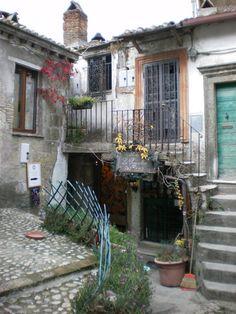 Calcata Viterbo Lazio Italy