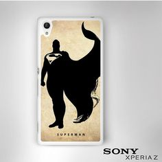 Superman Superhero DC Comic Character for Sony Xperia Z1/Z2/Z3 phonecases