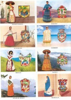 Los 32 trajes tipicos de mexico - Imagui