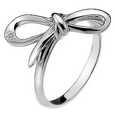 Hot Diamonds Flourish Sterling Silver Ring Size N