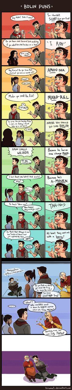 Avatar LOK Jokes