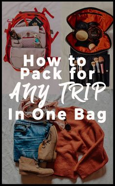 How to pack for any trip in one bag! Carry on packing tips. Travel packing tips. Packing is difficult. Until they invent a way to miniaturize my clothes in my suitcase, it's going to stay that way. But I was able to pack for 19 days in ONE carry on. Carry On Packing, Packing Tips For Vacation, Suitcase Packing, Vacation Trips, Vacation Travel, Packing Tricks, Europe Packing, Family Travel, Family Vacations