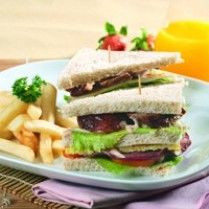TRIPLE DECKER SANDWICH http://www.sajiansedap.com/recipe/detail/11398/triple-decker-sandwich