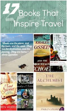 Whether it's for you or a gift for a friend, inspire travel with these great books about travel from around the globe. Click to find out more!