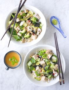 Eleven Deliciously Healthy Salads To Make : Green Sushi Salad