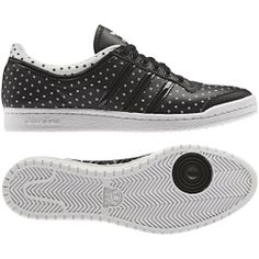 adidas Top Ten Low Sleek W Kadın Siyah Spor Ayakkabı (Q23624) - Ayakkabı - KADIN