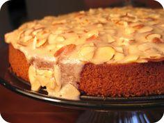 Dozen Flours: Torta di Mandorla (Moist Almond Cake) Best cake I've ever had!