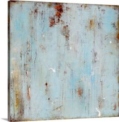 Backdoor Blues by Erin Ashley Painting Print on Canvas