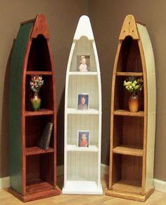 391 In By Westmoreland Woodworks In Milford, PA   Canoe Bookshelf