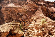 Climbing down to Mooney Falls - It's worth the effort! Havasupai Waterfalls, Arizona Waterfalls, Effort, Climbing, Mount Rushmore, Memories, Album, Adventure