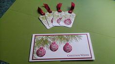 Ornamental Pine Stampin Up
