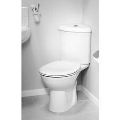 Orion Modern Corner Toilet Soft Close Seat