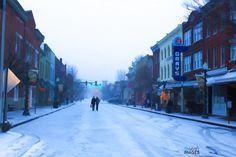'Snow on Main' #gottalovefranklin
