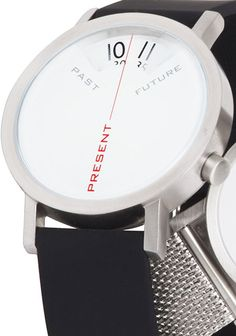 Projects Past Present & Future Silicon 40mm Watch