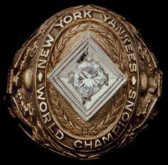1932 World Series Ring