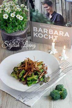 Kochbuchvorstellung: Barbara kocht + Rezept Sprossbrokkoli mit Ingwer und Rinderfilet