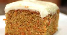 Lahodný mrkvový dort s nadýchaným krémem
