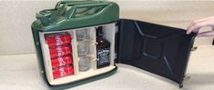 Jerry Can Mini Bar Plans DIY Portable Canister Bar Beverage Drinks Carries