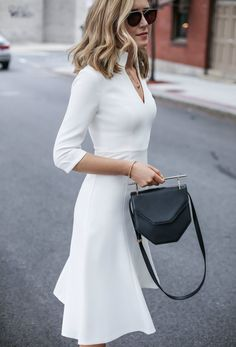 Classic Ivory Dress - MEMORANDUM, formerly The Classy CubicleMEMORANDUM, formerly The Classy Cubicle