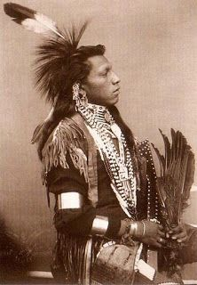 American Indian's History: Account of the Burial of the Omaha Sioux Chief, Blackbird