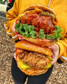 Vegan Chicken Sandwiches
