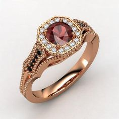 Birthstone Jewelry Gift Ideas: Garnet Ring | Gift Ideas and Fun Tips for You!