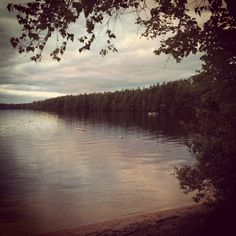 Woods Pond in Bridgton Maine