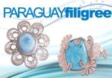 Paraguayan Filigree and Dominican Larimar