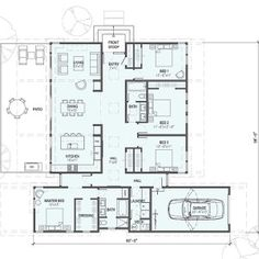 Detailed Floorplans - Stillwater Dwellings