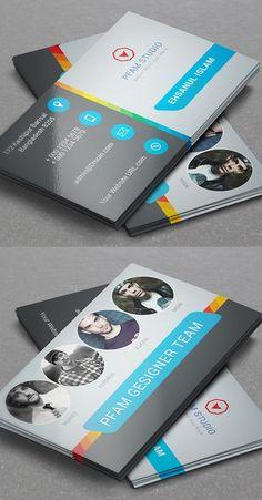 New Modern Business Cards Design