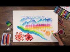 Caran d'Ache NEOCOLOR I & II - Long Edit (3 videos) - YouTube