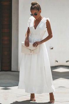 Basilica Cotton Maxi Dress - Another! Dress Outfits, Casual Dresses, Fashion Dresses, Maxi Dresses, Dress Ootd, Modest Fashion, Dress Skirt, Dress Up, Summer Outfits