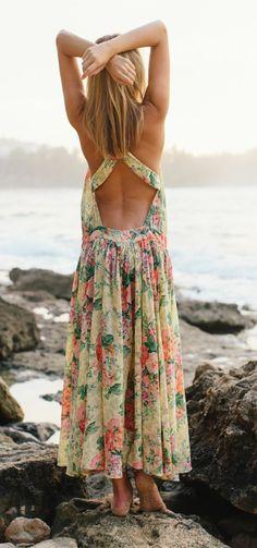 Beautiful Floral Maxi