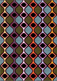 Pattern Drawing, Pattern Art, Pattern Design, Batik Pattern, Tile Patterns, Textures Patterns, Print Patterns, African Textiles, African Fabric