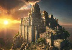 Interesting castle