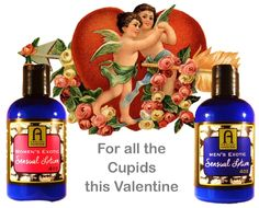 Men's and Women's Exotic Sensual Body Massage Lotion 4oz from Nature's Finds. Helps to create a little mmmm... with our special blend of Aphrodisiac essential oils. MEN'S:  http://www.amazon.com/gp/product/B00MTB00ZI WOMEN'S:  http://www.amazon.com/Womens-Sensual-Massage-Natures-Finds/dp/B00MQIM638