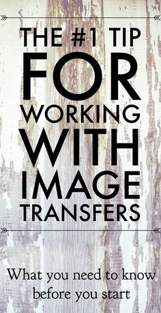The # Tip for working with Transfers!